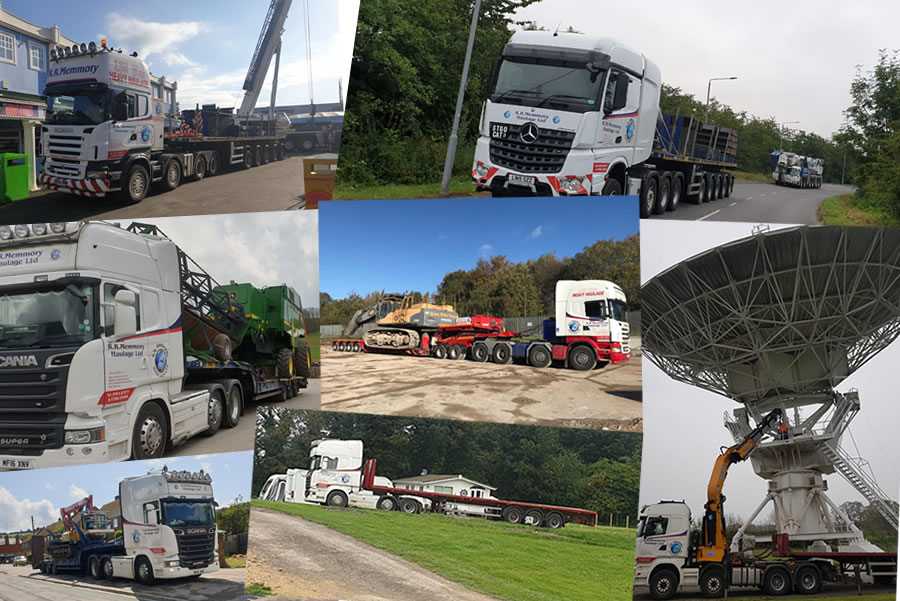 an image showing our Haulage fleet gallery link