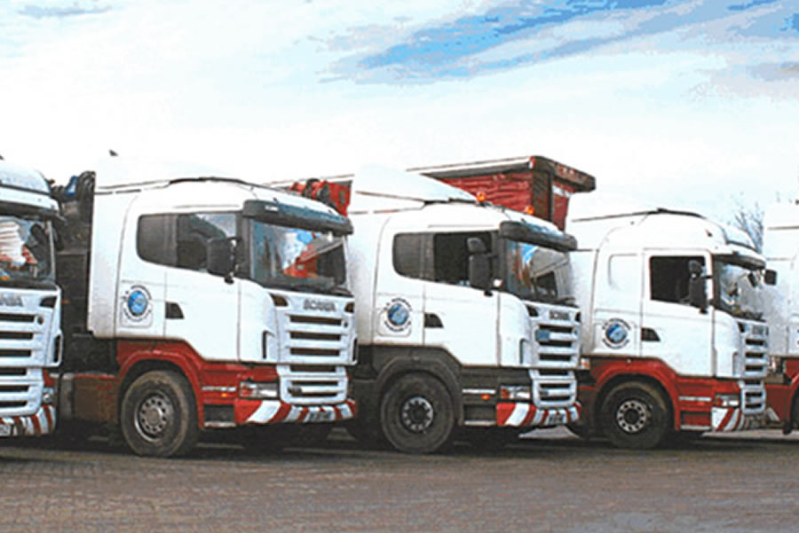 an image showing our Haulage fleet